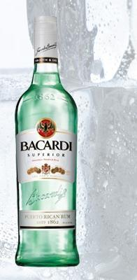 Top-selling liquors 2012, Barcardi