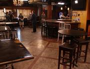 Before   Another look at the interior of The Black Sheep before renovation work begins.