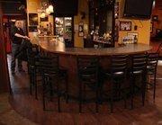 Before   The bar at The Black Sheep, prior to renovation.