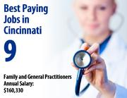 Family and General Practitioners    Total employees: 580   Hourly wage: $77  (Source: BLS)