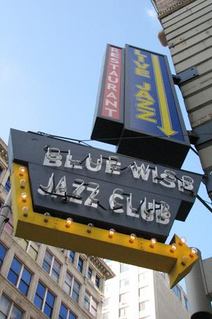 The Blue Wisp's iconic sign might be turned off for good.