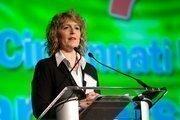 Denyse Ferguson, executive director of Cincinnati USA Partnership, introduced the 2012 Cincinnati USA Partnership Growth Awards.