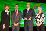 Representatives from Mercy Health received the 2012 Growth Award from the Cincinnati USA Partnership.