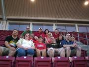 C Forward employees attended a Cincinnati Reds game together.