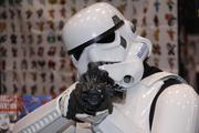 "A Storm Trooper from the ""Star Wars"" films."