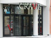 The entrance of Crave, the latest restaurant to open at The Banks.