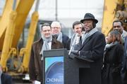 """Mayor Mark Mallory got to say """"It's a Great Day in Cincinnati"""" today. It's an honor that he and City Manager Milton Dohoney take turns saying at the various celebrations they attend."""