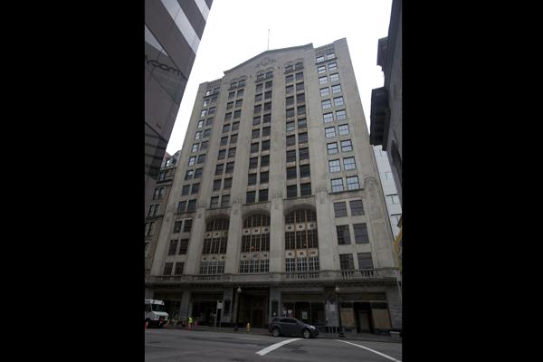 The 14-story Cincinnati Enquirer Building is located on Vine Street in downtown Cincinnati. Built in 1926, it is on the National Register of Historic Places.