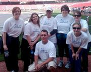 Express Scripts Inc. employees participate in the March of Dimes Champions for Babies campaign.