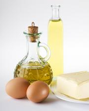 Fats and cooking oils that are poured down drains solidify in pipes.