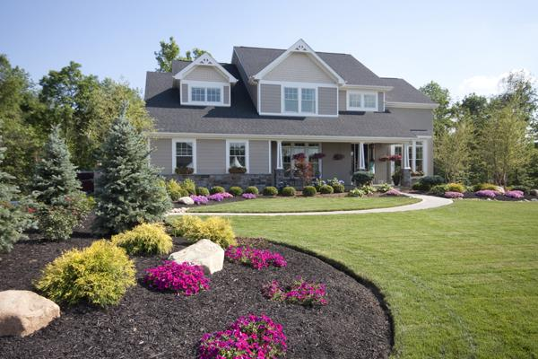 This home from Potterhill Homes, which actually  produces more energy than it uses and can result in a credit on utility  bills, was part of Homearama 2012.