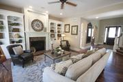 The living room in the Potterhill Homes home.