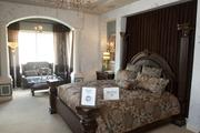 The master suite of the Artisan, built by Artisan Estate Homes.