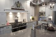 The gourmet kitchen inside the Medinah by Justin Doyle Homes.