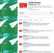 No. 4. HOW Design @howbrand 33,651 followers Graphic design site