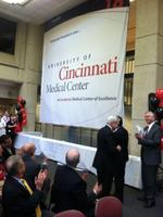 Cincinnati's University Hospital takes University of Cincinnati brand