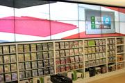 Xbox games and hardware are also available at the new Microsoft store.