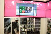 A large Halo 4 display at the Microsoft store. Halo 4 is expected to be one of the holiday season's hottest games.