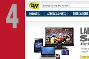 At No. 4, www.bestbuy.com. Even with last year's ranking.