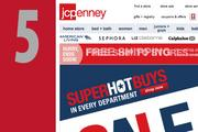 At No. 5, www.jcpenney.com. Even with last year's ranking.