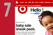 At No. 7, www.target.com. Down from No. 6 last year.