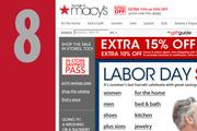 At No. 8, www.macys.com. Up from No. 11 last year.