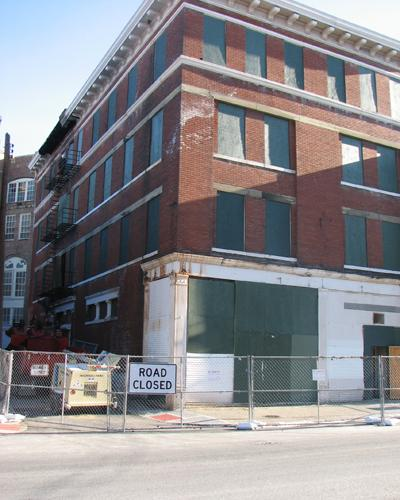 The building at 142 E. McMicken Ave. was torn down.