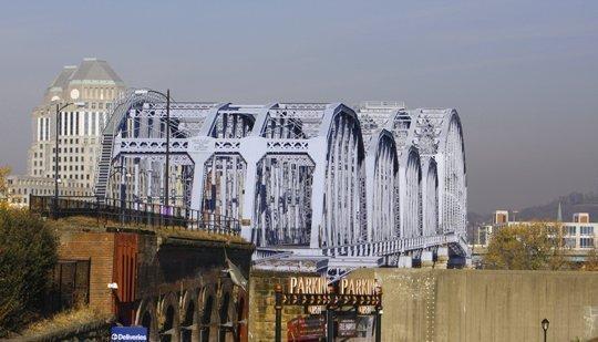 Is the Purple People Bridge a hotel site?