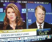 "Bahl & Gaynor's Matt McCormick as a guest on CNBC's ""The Call."""