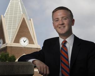 "Xavier University graduate Ryan Alleman landed his position with Macy's Inc. last fall. Getting an early start helped his success, he said. ""You have to look at it as a four-year process."""