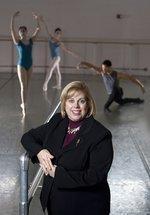 Cincinnati Ballet's Managing Director <strong>Santomo</strong> started out as a parent volunteer