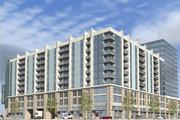 The next apartment building at the Banks will include balconies, a popular feature with residents at the Current at the Banks apartments that were part of the project's first phase.