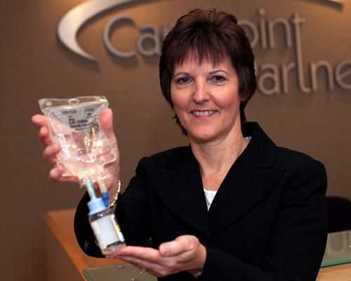Dana Soper co-founded CarePoint Partners. The provider of infusion therapy has been acquired by BioScrip Inc.