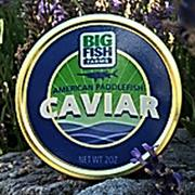 Big Fish Farms caviar is sold in stores locally.