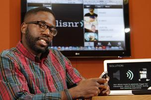 Rodney Williams is one of five founders of Lisnr,  an app that pushes rich content to music lovers.