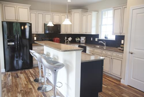 Virginia Place is the Northside subdivision that will host this year's CitiRama.  This is the kitchen in The Chase, an entry by Brookstone Homes.