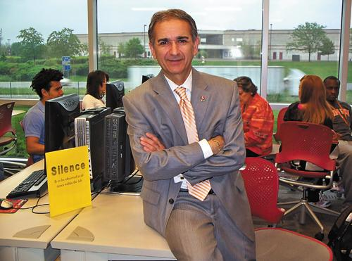 George Sehi is executive dean of Sinclair Community College's Courseview campus in Mason. The school opened in 2007 with 345 students; enrollment reached 1,260 this past fall.