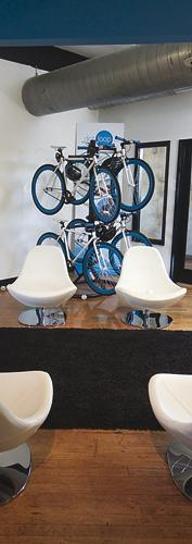 DotLoop provides bikes for employees to use for commuting or running errands.
