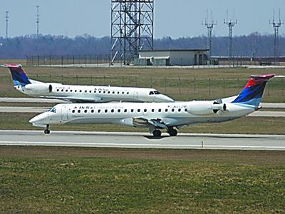 Delta operates the majority of flights from the Cincinnati/Northern Kentucky International Airport.