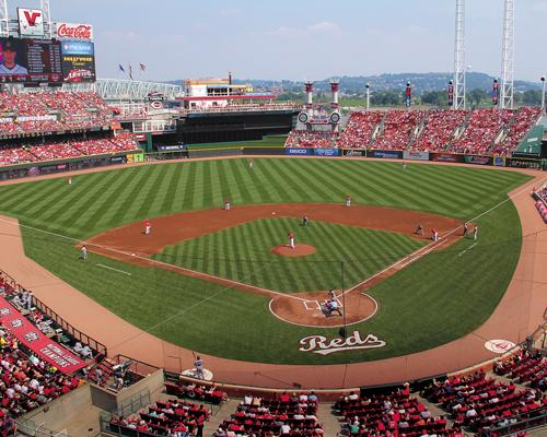 The Cincinnati Reds are suing JS Gold & Coin Inc. and its CEO Nancy Hendricks for failure to pay for two Diamond seats for the 2013 season.