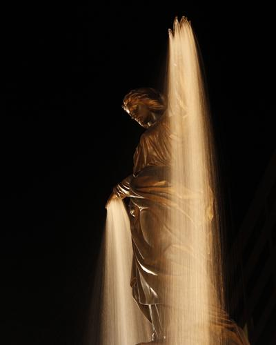 """Downtown's Tyler Davidson Fountain, known as """"The Genius of Water,"""" is an apt symbol for Cincinnati."""
