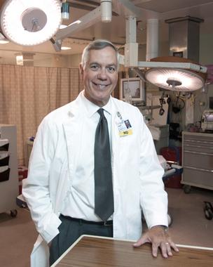 Dr. W. Brian Gibler has spent most of the last 30 years practicing medicine at University Hospital.