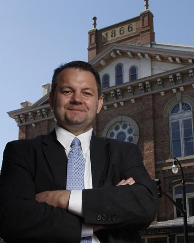 """Jody Gunderson, who became Hamilton's economic development director in January, expects the next five years to bring """"steady progress downtown and throughout the neighborhoods."""""""
