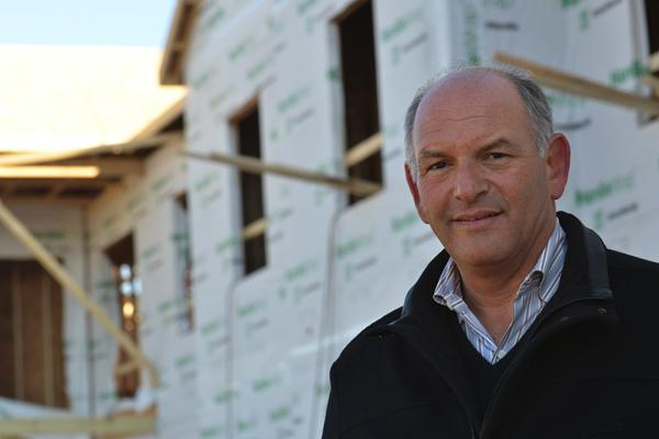 """""""I don't think we would have ever projected the absorption we've experienced,"""" said Louis Guttman, principal of Hills Communities, which is building 360 apartments in Deerfield Township."""