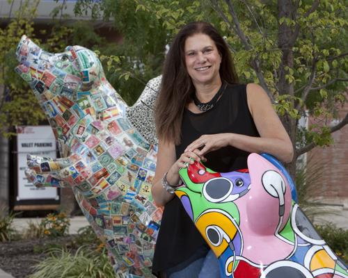 Tamara Harkavy has led ArtWorks since the nonprofit's founding in 1996. This summer marked the organization's second Big Pig Gig.