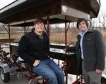 Pedal Wagon debuts with goal to put party on wheels