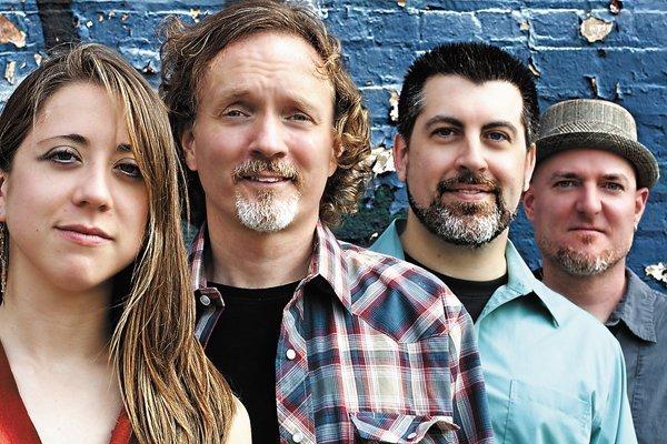 Hickory Robot members Lauren Schloemer, Jim Pelz, Scott Carnder and Mike Georgin funded an album through Kickstarter.