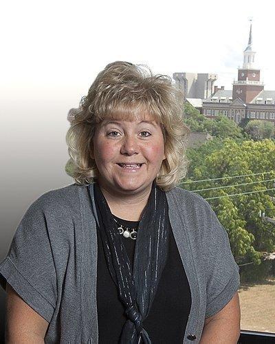 Angie Holden is CEO of Regency Hospital-Cincinnati. Regency is part of Select Medical Corp.