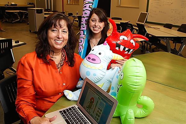 Andrea Brady hopes to get a boost from Innov8 for Health for her new website, My Fear Zapper. Based on her daughter Natalie's concept, the site helps children overcome their anxieties.
