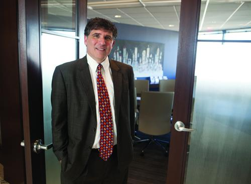 Tom Evans is now managing partner at Rendigs Fry Kiely & Dennis after beginning as a second-year law clerk in 1984 while attending the University of Cincinnati College of Law.